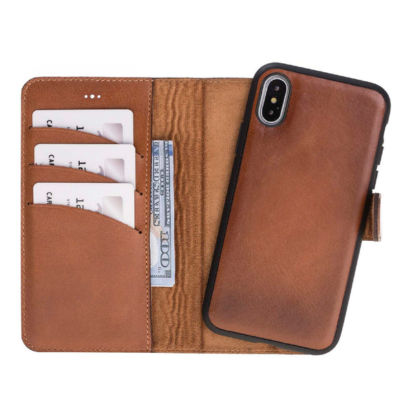 Magic Case Iphone X / XS - Cognac Bruin - Oblac