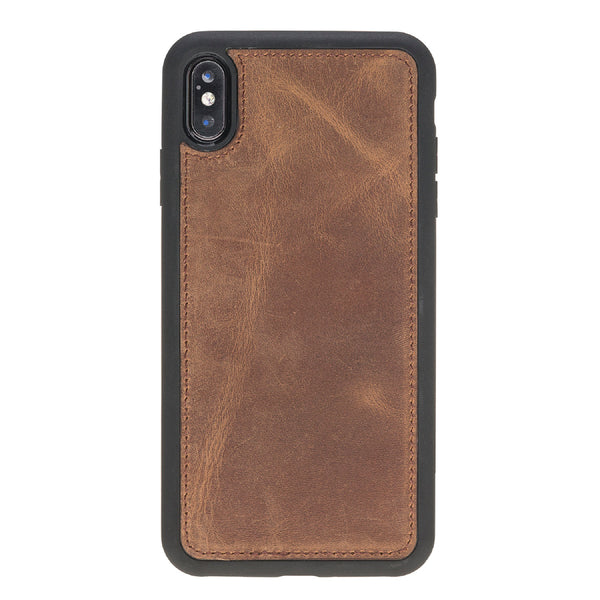 Magic Case Iphone X / XS Max - Antiek Bruin - Oblac