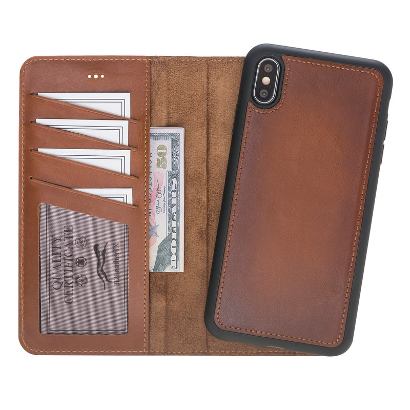 Magic Case Iphone X / XS Max - Cognac Bruin - Oblac