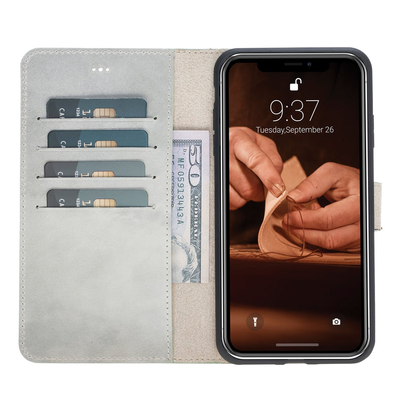 Magic Case Iphone X / XS Max - Cloud Grijs - Oblac
