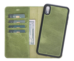 Magic Case Iphone X / XS Max - Moss Groen - Oblac