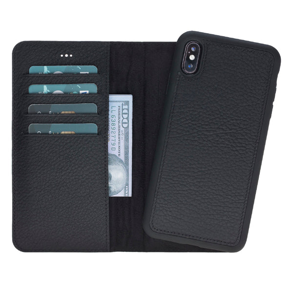 Magic Case Iphone X / XS Max - Kaviaar Zwart - Oblac