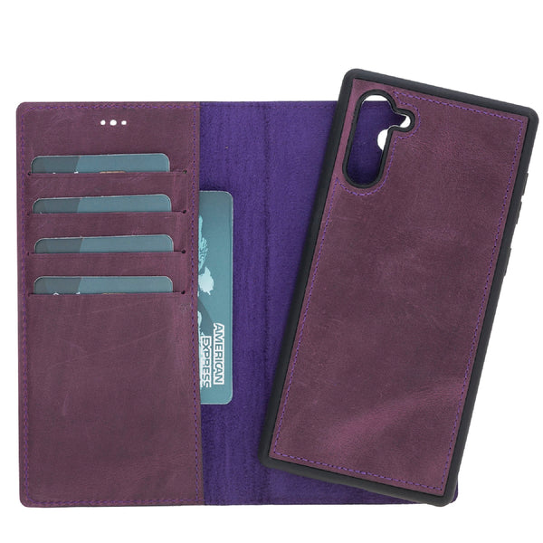 Magic Case Samsung Note 10 - Antiek Paars - Oblac