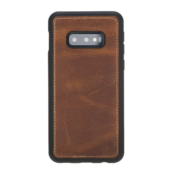Magic Case Samsung S10 Edge - Antiek Goud Bruin - Oblac