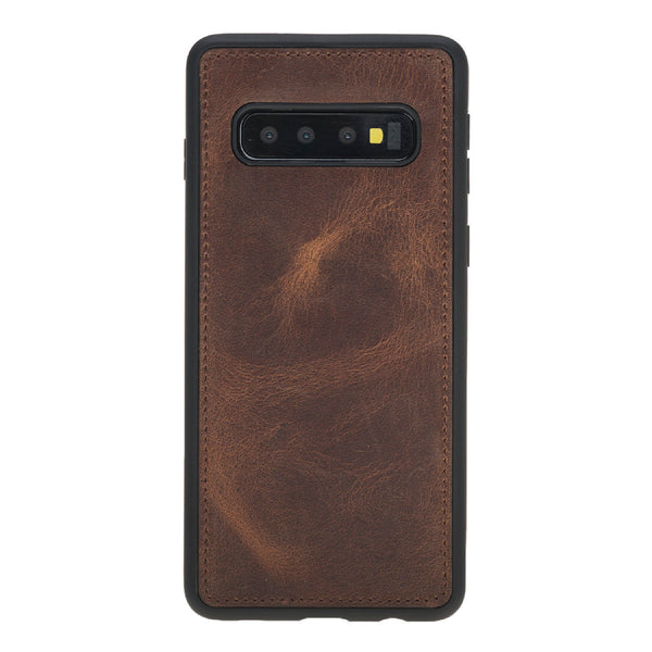 Magic Case Samsung S10 Plus - Antiek Bruin - Oblac
