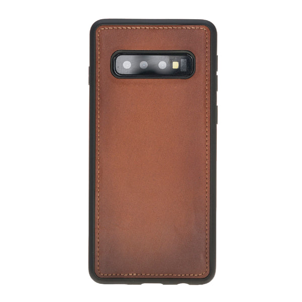 Magic Case Samsung S10 Plus - Cognac Bruin - Oblac