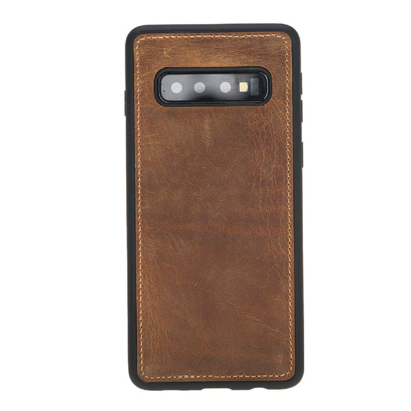 Magic Case Samsung S10 Plus - Antiek Goud Bruin - Oblac