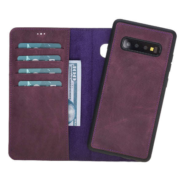 Magic Case Samsung S10 Plus - Antiek Paars - Oblac