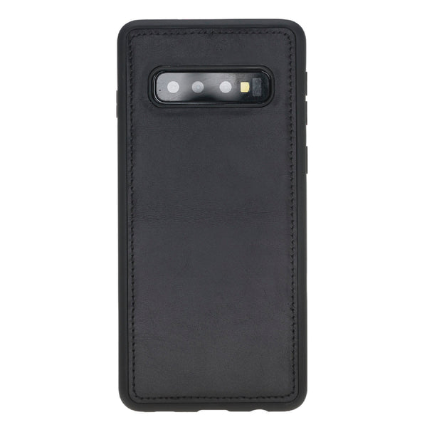 Magic Case Samsung S10 Plus - Rustiek Zwart - Oblac