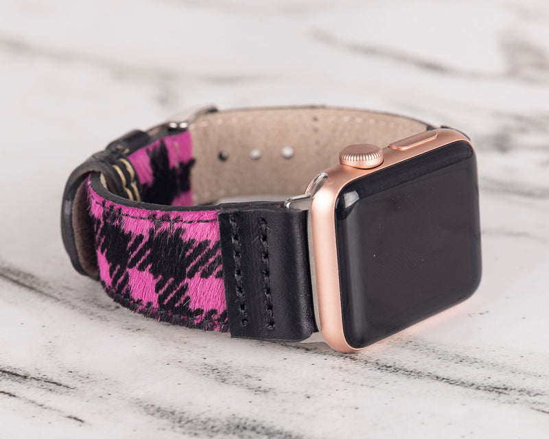 Lederarmband Apple Watch - Rosa Truck
