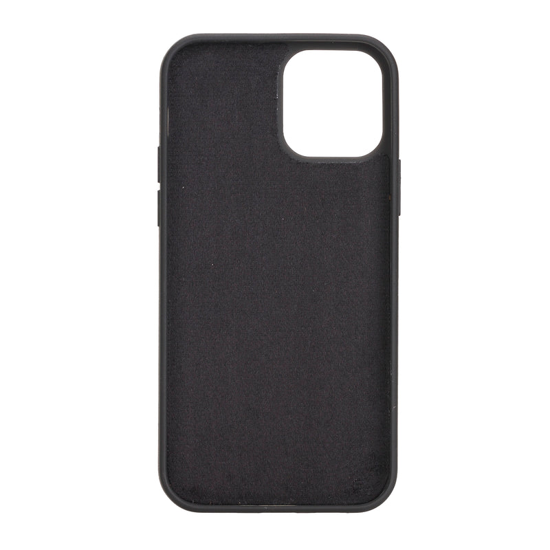 "Magic Case iPhone 12 (6.1"") - Kaviaar Zwart - Oblac"