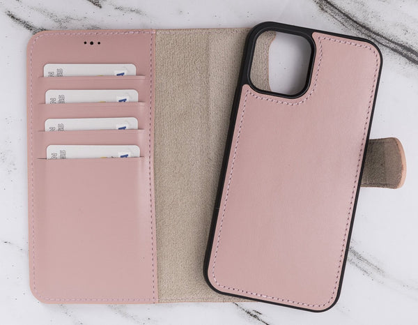 "Magic Case iPhone 12 Pro Max (6.7"") - Nude Roze - Oblac"
