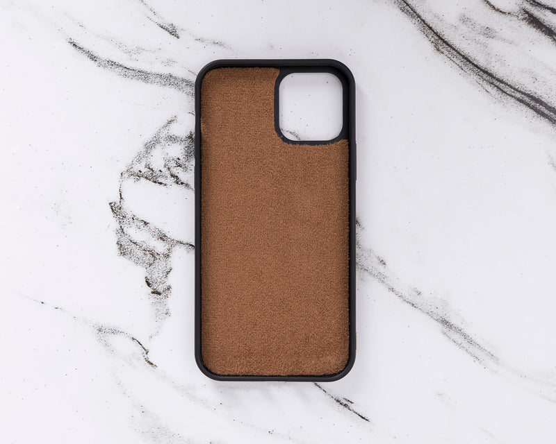 "Magic Case iPhone 12 Pro Max (6.7"") - Cognac Bruin - Oblac"