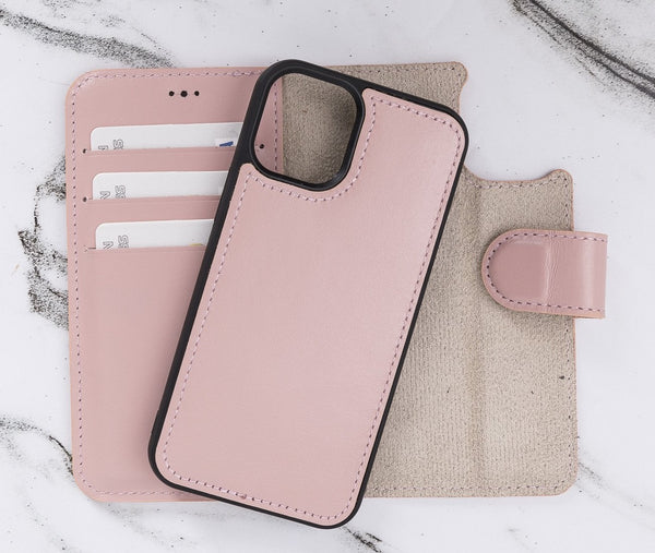 "Magic Case iPhone 12 Mini (5.4"") - Nude Roze - Oblac"