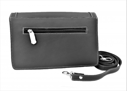 HAARLEM DERMA 25750 LEATHER CROSSBODY BAG WOMEN