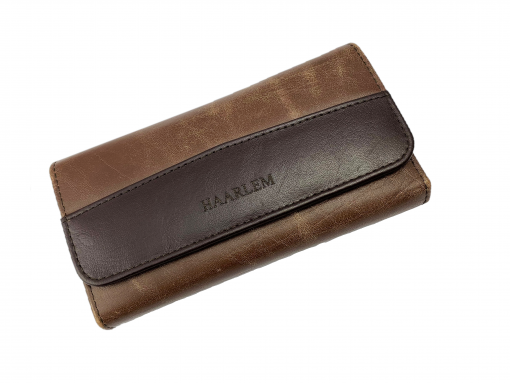 HAARLEM KUZE 26350 LONG LEATHER WALLET WOMEN