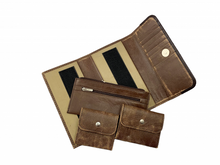 Load image into Gallery viewer, HAARLEM KUZE 26350 LONG LEATHER WALLET WOMEN