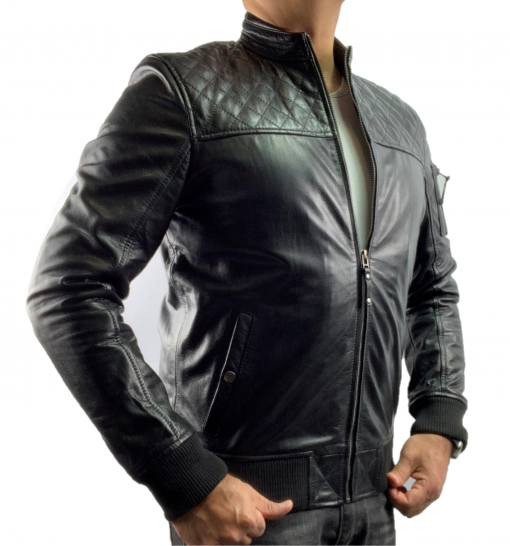 HAARLEM KUZE 11450 LEATHER JACKET MEN