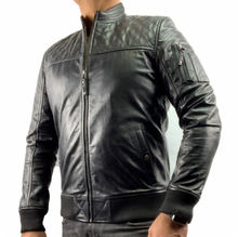 Load image into Gallery viewer, HAARLEM KUZE 11450 LEATHER JACKET MEN