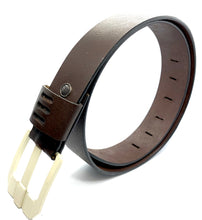 Load image into Gallery viewer, HAARLEM KUZE 16300 LEATHER BELT MEN
