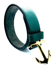 Load image into Gallery viewer, HAARLEM KUZE 16250 LEATHER BELT WOMEN