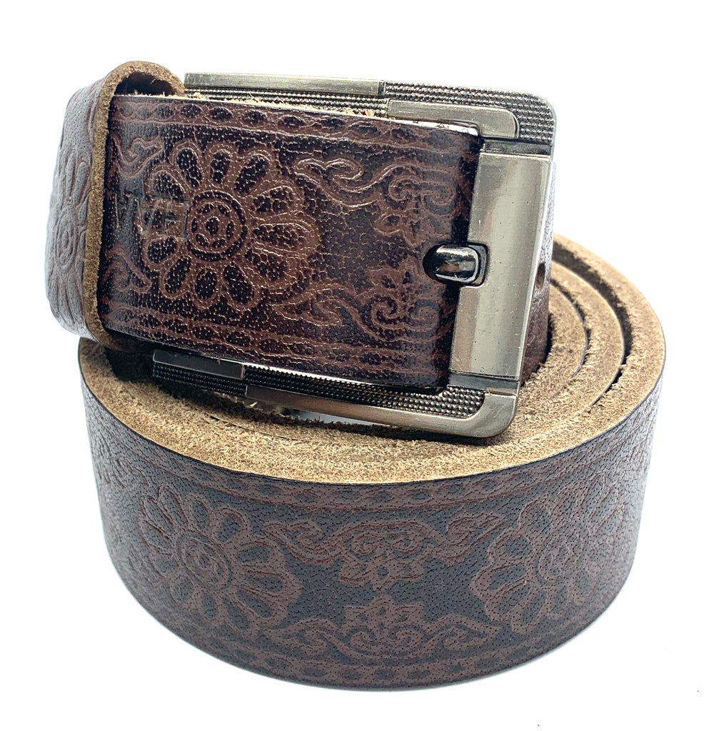HAARLEM KUZE 16400 LEATHER BELT MEN