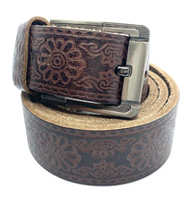 Load image into Gallery viewer, HAARLEM KUZE 16400 LEATHER BELT MEN