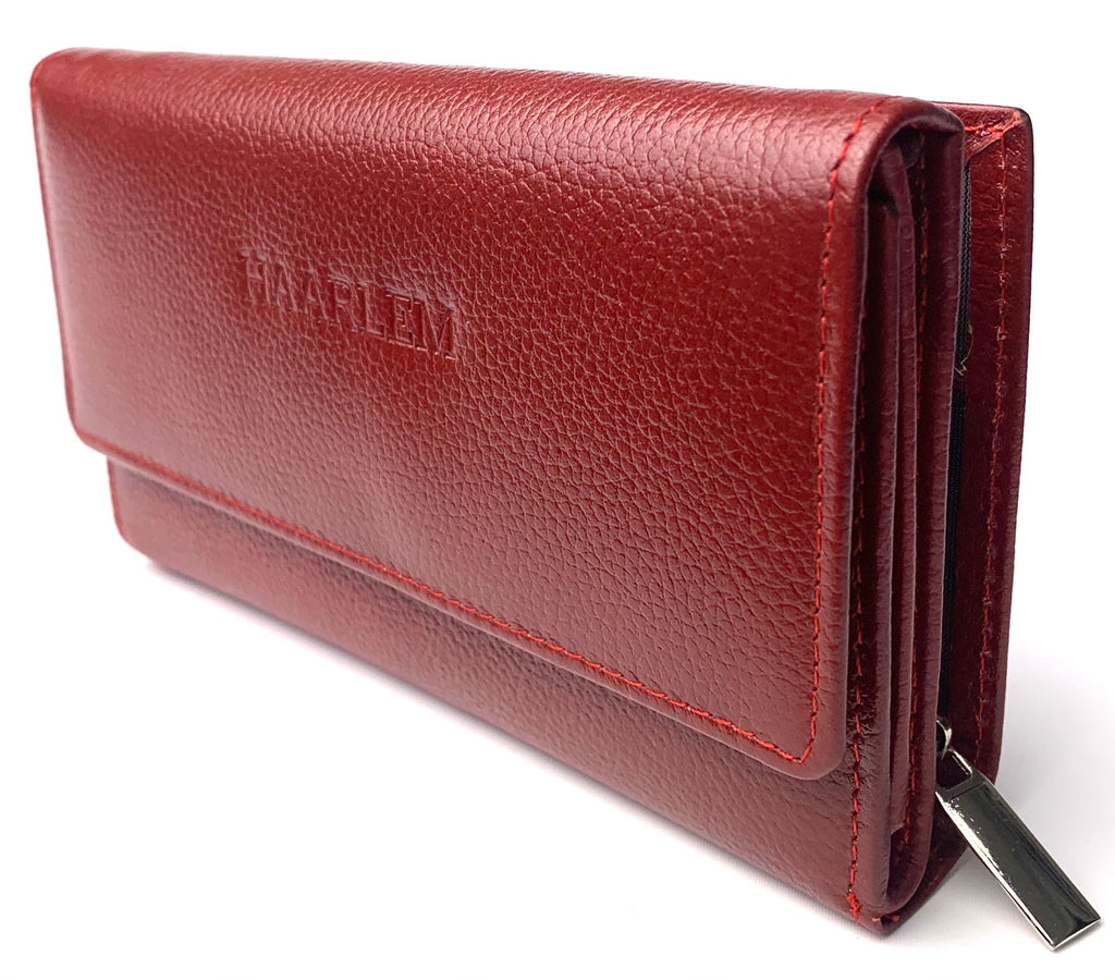 HAARLEM PIELE 25252 LEATHER WALLET WOMEN