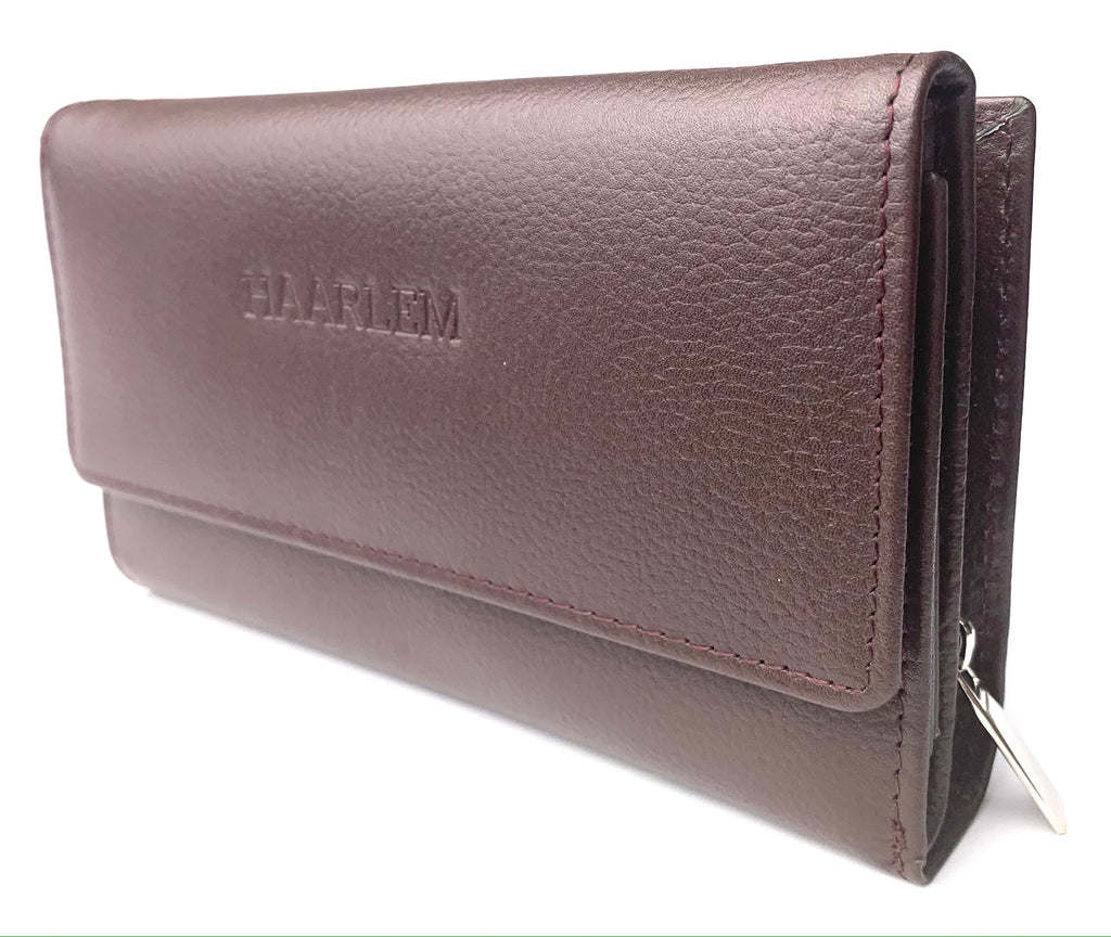 HAARLEM PIELE 25254 LEATHER WALLET WOMEN