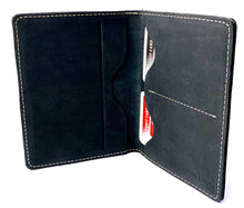 Load image into Gallery viewer, HAARLEM DERMA 21750 LEATHER PASSPORT COVER