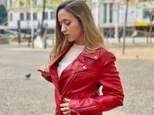Load image into Gallery viewer, HAARLEM KOZA 11150 LEATHER JACKET WOMEN
