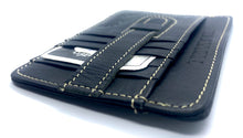 Charger l'image dans la galerie, HAARLEM KUZE 21660 LEATHER CARDHOLDER MINI WALLET MEN