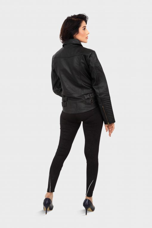 HAARLEM KUZE 11190 LEATHER JACKET WOMEN