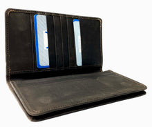 Load image into Gallery viewer, HAARLEM DERMA 24800 LONG LEATHER WALLET WOMEN