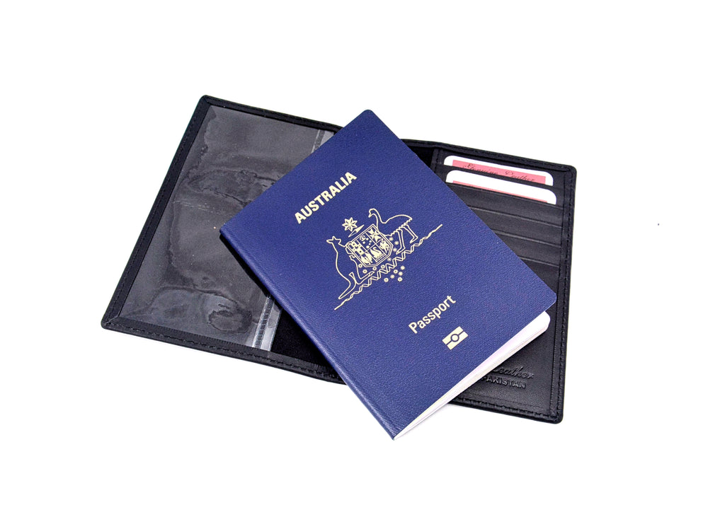 ADA 21700 LEATHER PASSPORT COVER
