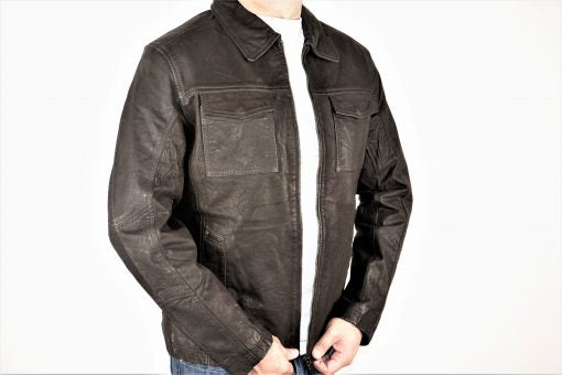 HAARLEM DERI 59300 LEATHER JACKET MEN