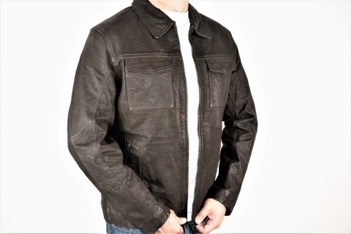 DERI 5930 LEATHER JACKET MEN