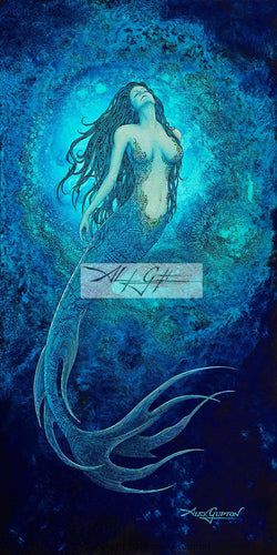 10x20 Paper Prints - Goddess of the Deep (Mermaid)