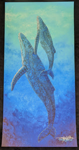 "SC - Misc. Paper Giclee Print 10x20- ""Out of the Blue"""