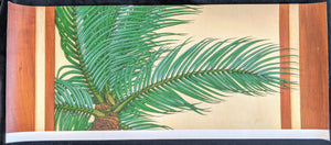 "SC -  Misc. Canvas Giclee Print 23.5x9.5 - ""Rapt Palm"" (Palm Frond Detail)"