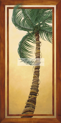 10x20 Paper Prints - Rapt Palm Flower