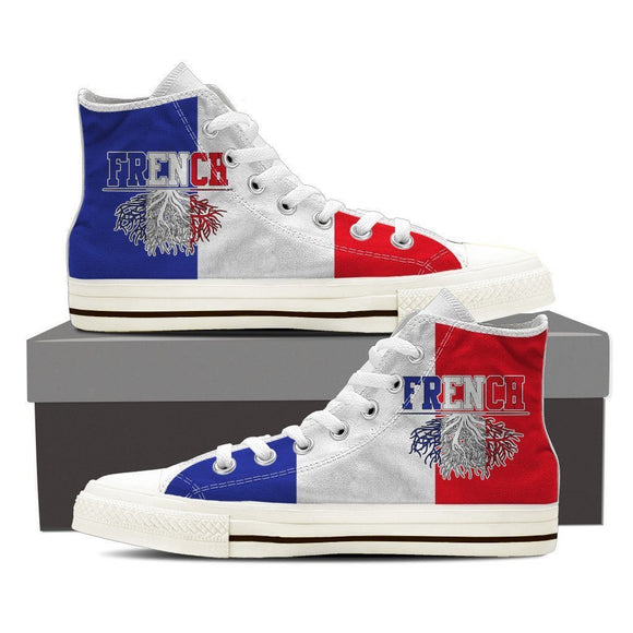 french roots new ladies high top sneakers