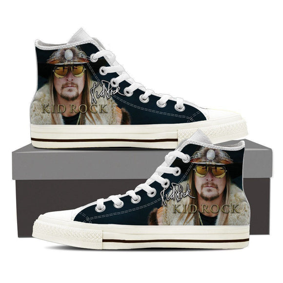 kid rock ladies high top sneakers
