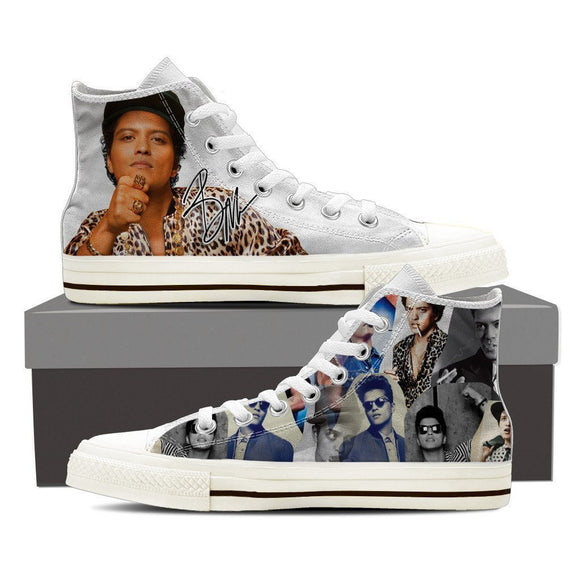 bruno mars ladies high top sneakers