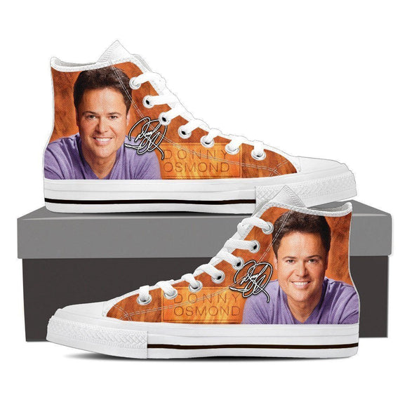 donny osmond ladies high top sneakers