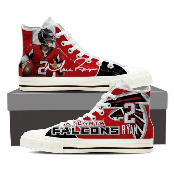 matt ryan ladies high top sneakers