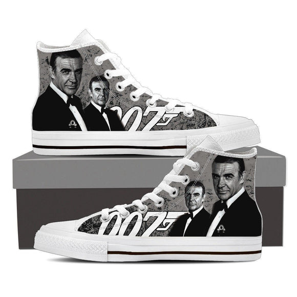 sean connery mens high top sneakers