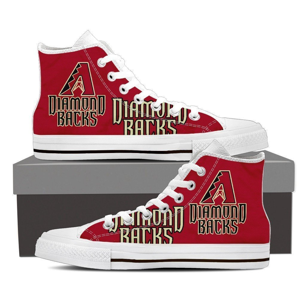 arizona diamondbacks ladies high top sneakers