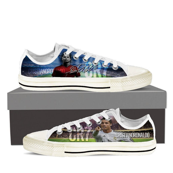 cristiano ronaldo ladies low cut sneakers