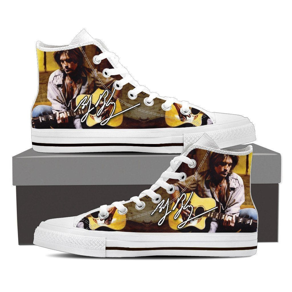 billy ray cyrus mens high top sneakers